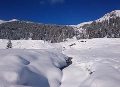 Die Spuren der Wintersaison